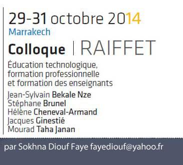 Éducation au Daara et insertion dans l'économie informelle à l'épreuve des manifestations identitaires par Sokhna Diouf Faye fayediouf@yahoo.fr