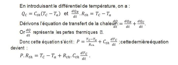 En introduisant le différentiel de température RAIFFET2014