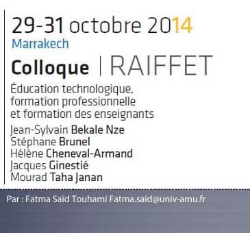 Des débats autour de questions socioscientifiques controversées en classe de sciences auprès d'élèves français et tunisiens : avec ou pour une acculturation scientifique ?  Fatma Saïd Touhami Fatma.said@univ-amu.fr