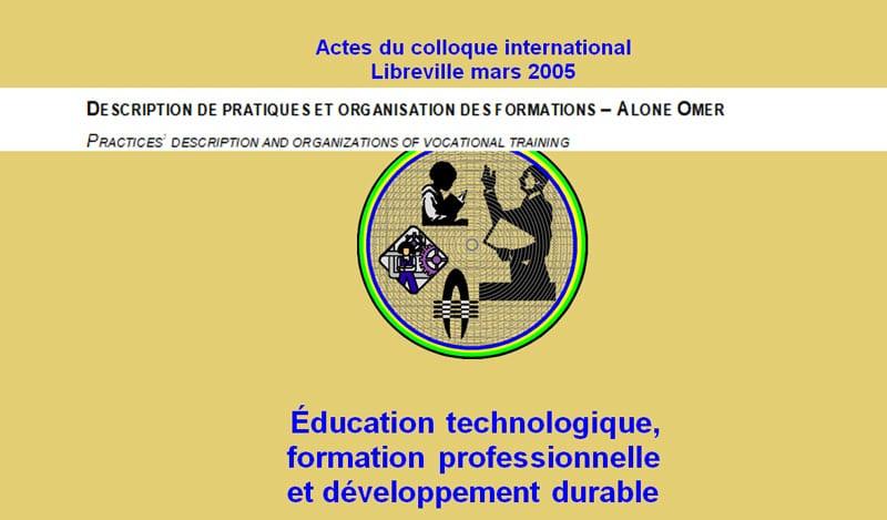 DESCRIPTION DE PRATIQUES ET ORGANISATION DES FORMATIONS – ALONE OMER
