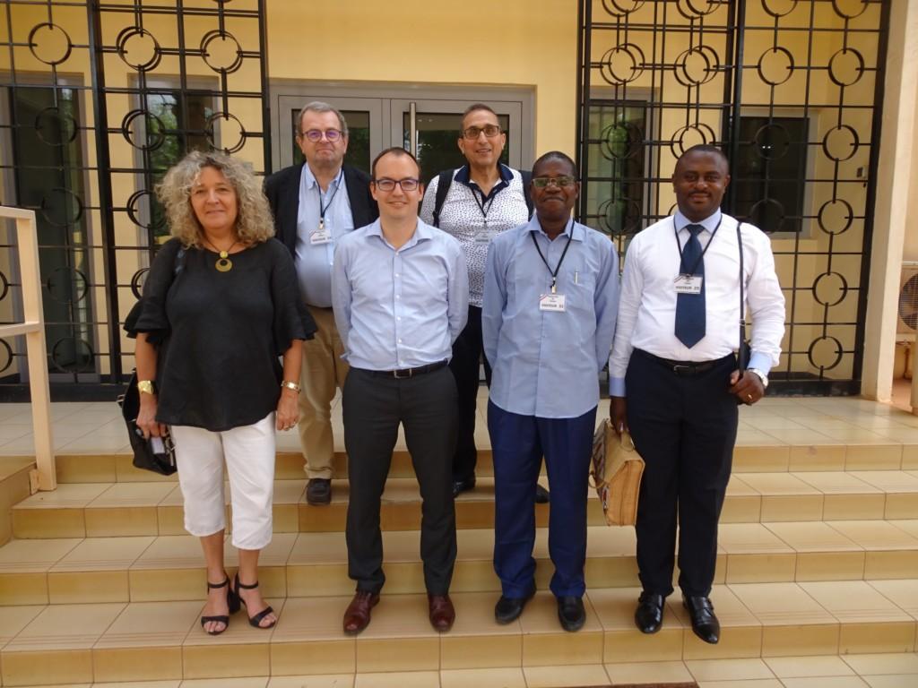 Mission de préparation du sixième colloque du RAIFFET à Koudougou au BURINA FASO