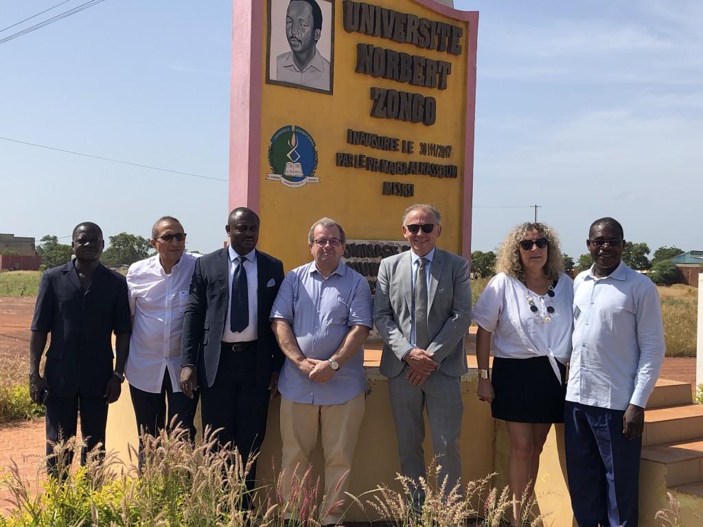 Belle année 2020 aux Institutions Africaines membres du RAIFFET ! Rendez vous du 5 au 9 octobre 2020 à l'Université Norbert ZONGO de Koudougou au BURKINA FASO ...