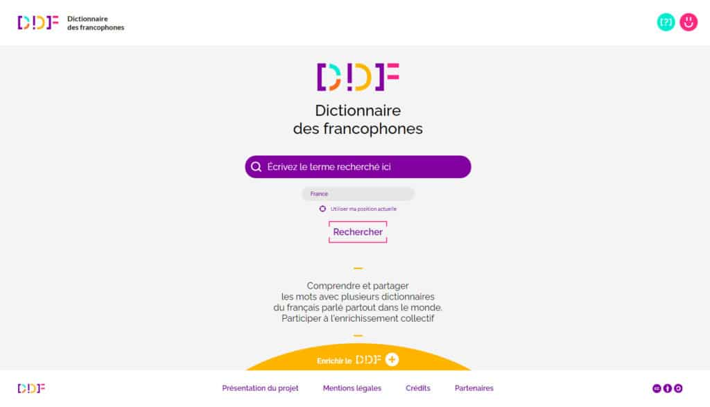 DDF, Dictionnaire des francophones pour la Journée internationale de la Francophonie 2021