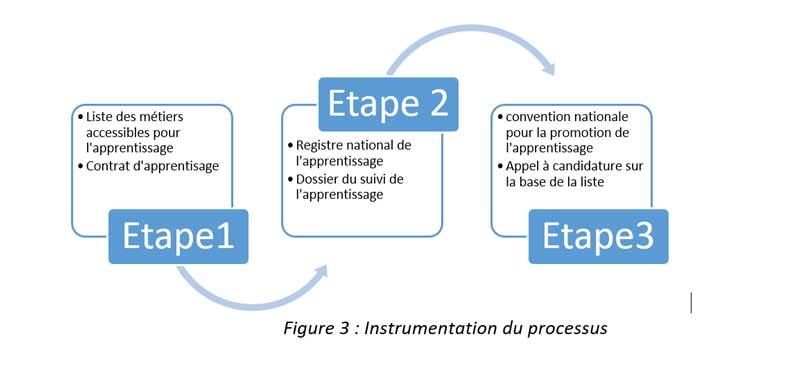 Figure 3 : Instrumentation du processus